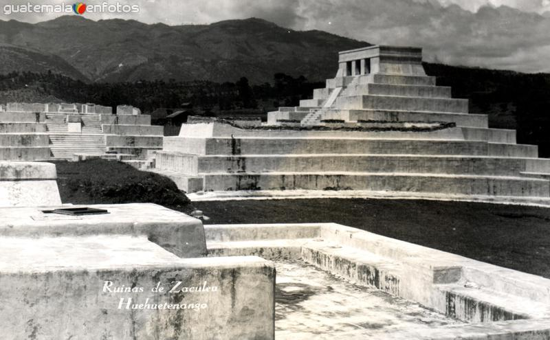 Zona arqueológica de Zaculeu
