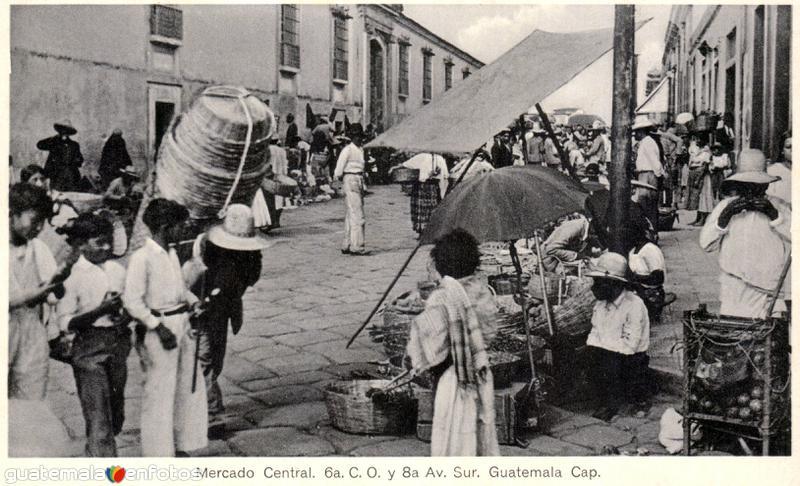 Mercado Central. 6a C.O. y 8a Avenida Sur