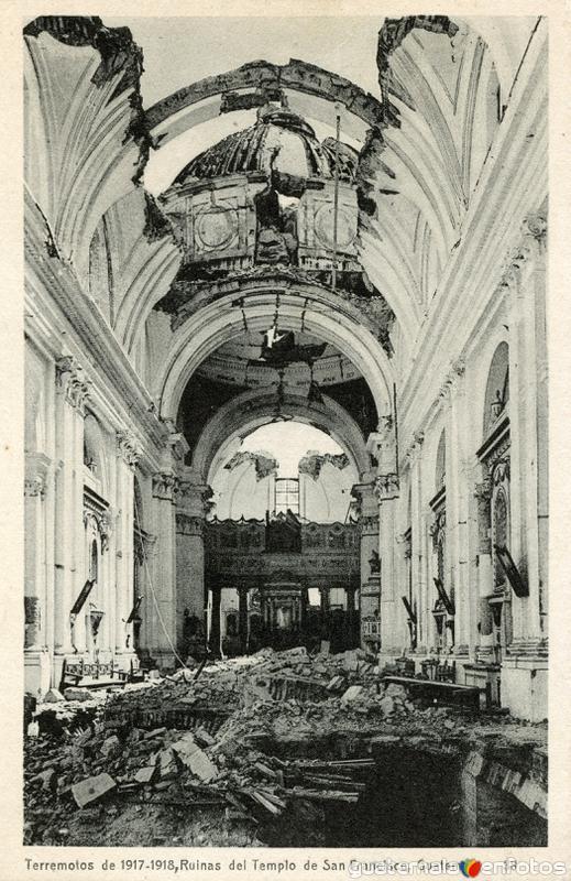 Ruinas del Templo de San Francisco