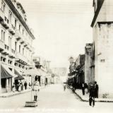 Una calle principal de Guatemala